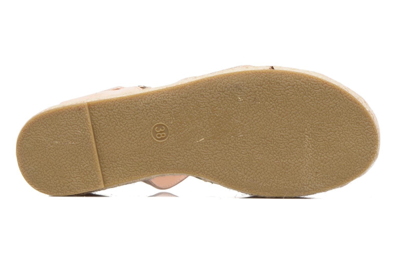 Sandales et nu-pieds MTNG Tessi 50973 Rose vue haut