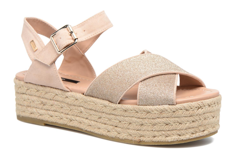 Sandales et nu-pieds MTNG Tessi 50973 Rose vue détail/paire
