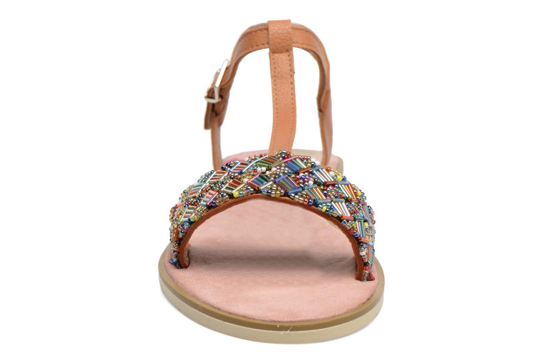 Sandales et nu-pieds MTNG Azalea 50792 Marron vue portées chaussures
