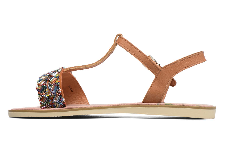 Sandales et nu-pieds MTNG Azalea 50792 Marron vue face