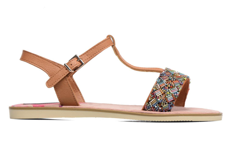 Sandales et nu-pieds MTNG Azalea 50792 Marron vue derrière