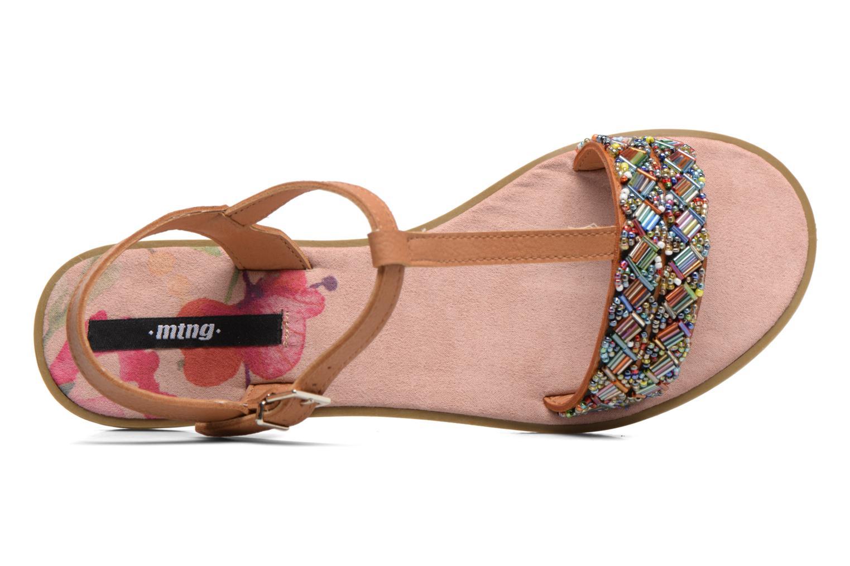 Sandales et nu-pieds MTNG Azalea 50792 Marron vue gauche