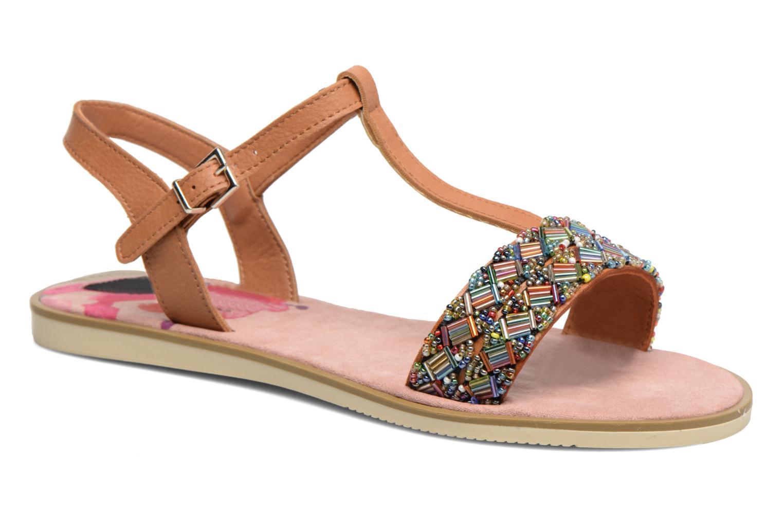 Sandales et nu-pieds MTNG Azalea 50792 Marron vue détail/paire
