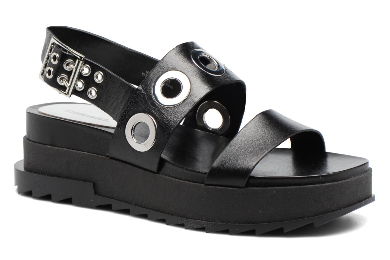 Sandali e scarpe aperte Diesel D-Yeletta WS Nero vedi dettaglio/paio
