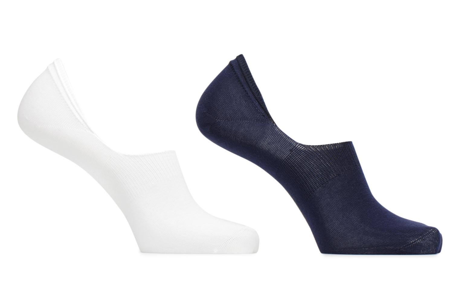 Socks & tights BLEUFORÊT DUO PROTEGE-PIEDS URBAN Blue detailed view/ Pair view