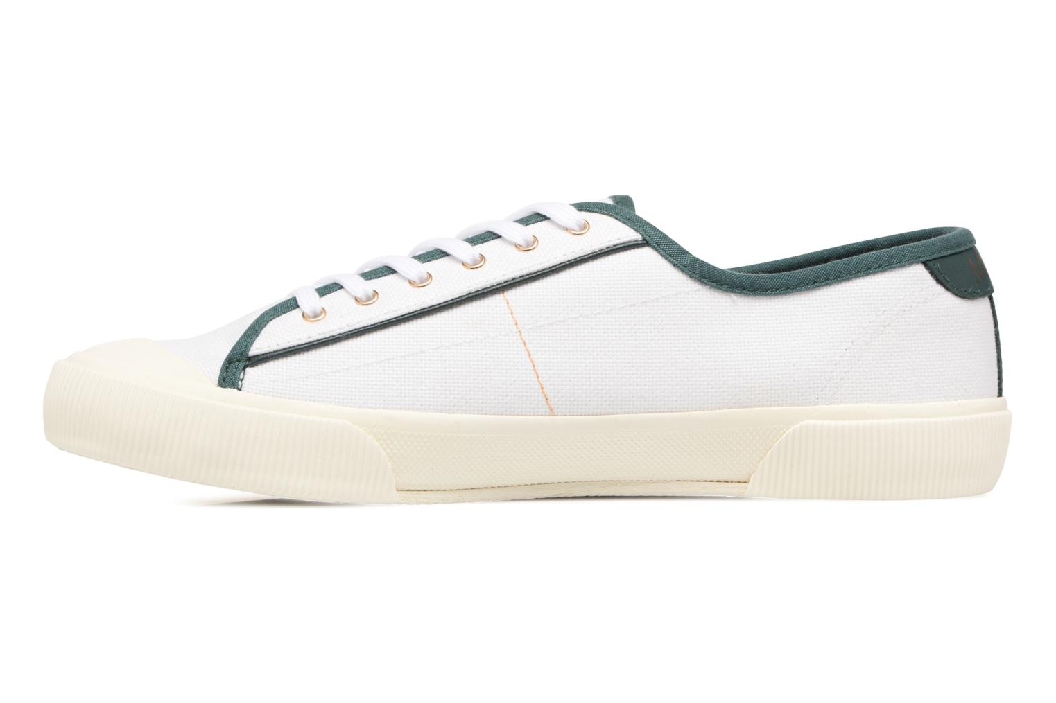 Trainers Faguo Birch Set & Match White front view