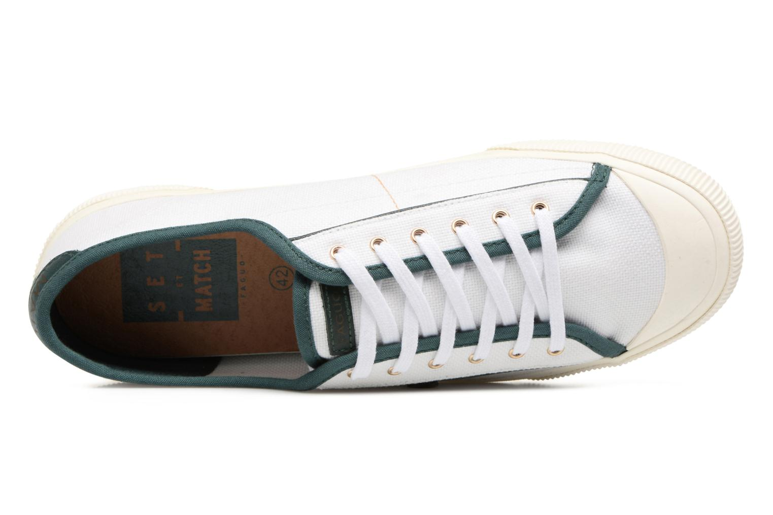 Trainers Faguo Birch Set & Match White view from the left