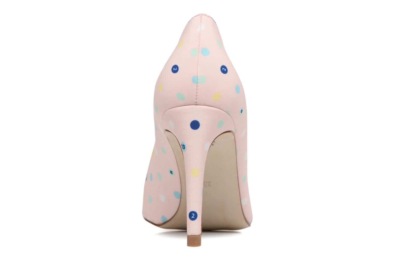 Zapatos de tacón Faguo Escarpin Faguo X Mellow Yellow Rosa vista lateral derecha