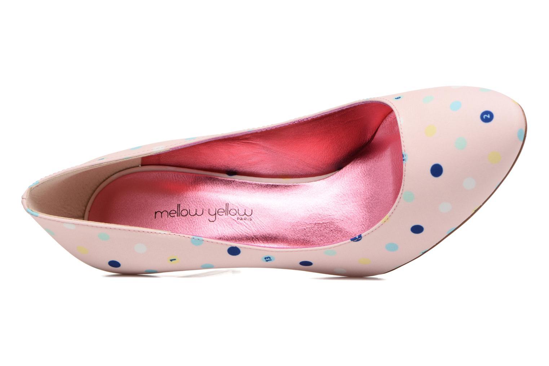 Zapatos de tacón Faguo Escarpin Faguo X Mellow Yellow Rosa vista lateral izquierda