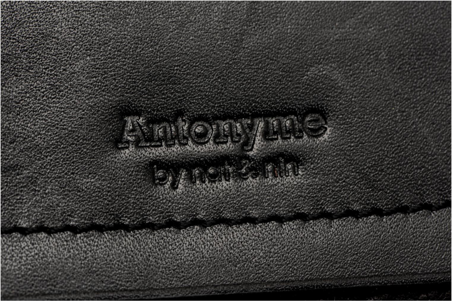 Wallets & cases Antonyme by Nat & Nin Viktor Black view from the left