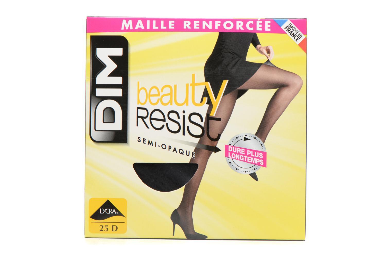 Chaussettes et collants Dim Beauty Resist Semi-opaque Noir vue détail/paire