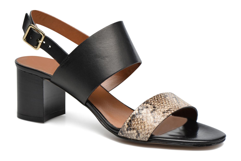 Sandales et nu-pieds Georgia Rose Batine Noir vue détail/paire