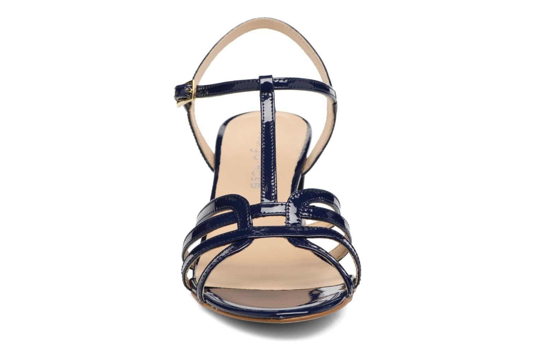Sandales et nu-pieds Georgia Rose Bachic Bleu vue portées chaussures