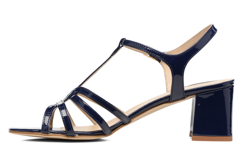 Sandales et nu-pieds Georgia Rose Bachic Bleu vue face