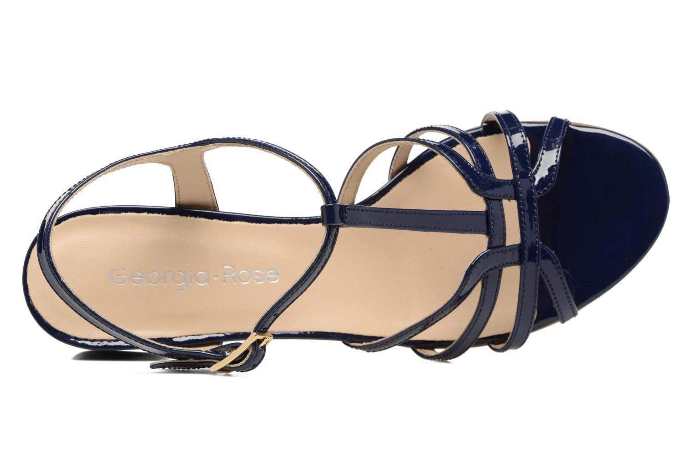 Sandales et nu-pieds Georgia Rose Bachic Bleu vue gauche