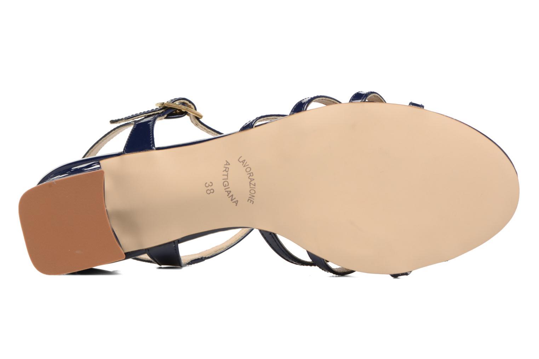 Sandales et nu-pieds Georgia Rose Bachic Bleu vue haut