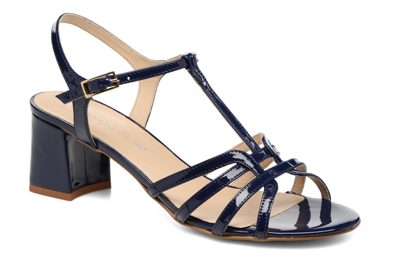 Sandales et nu-pieds Georgia Rose Bachic Bleu vue détail/paire