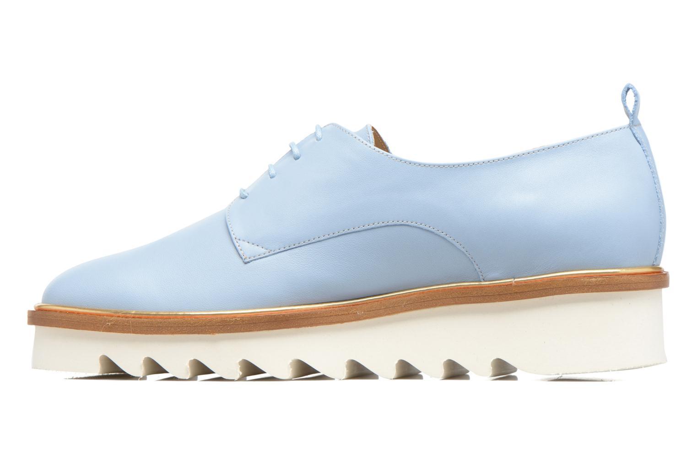 Chaussures à lacets MAURICE manufacture Jack Bleu vue face