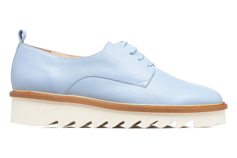 Chaussures à lacets MAURICE manufacture Jack Bleu vue derrière