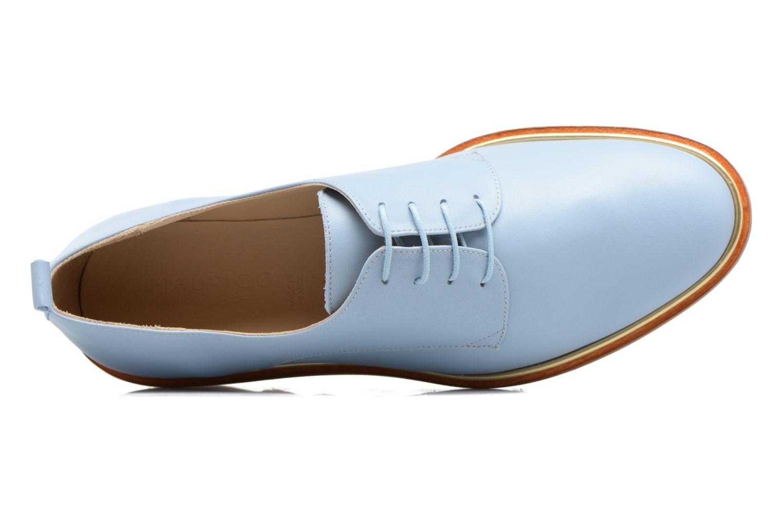 Chaussures à lacets MAURICE manufacture Jack Bleu vue gauche