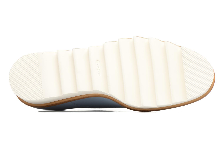 Chaussures à lacets MAURICE manufacture Jack Bleu vue haut