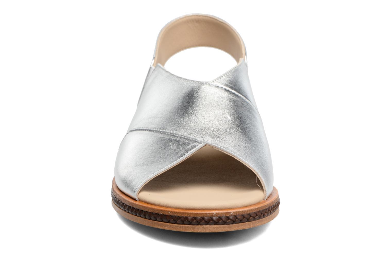 Sandales et nu-pieds MAURICE manufacture Lise Argent vue portées chaussures