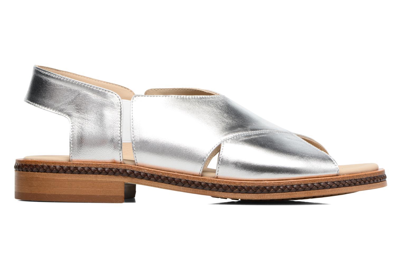 Sandales et nu-pieds MAURICE manufacture Lise Argent vue derrière