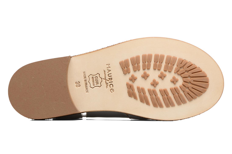 Sandales et nu-pieds MAURICE manufacture Lise Argent vue haut