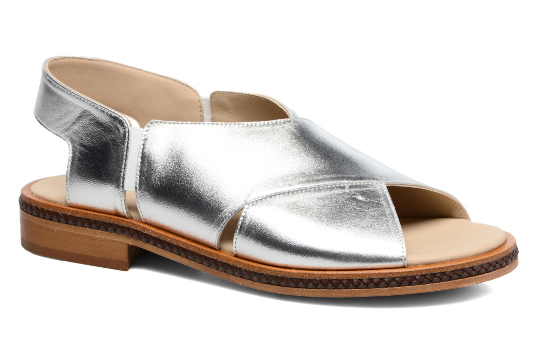 Sandales et nu-pieds MAURICE manufacture Lise Argent vue détail/paire