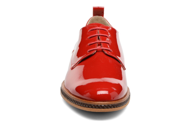 Chaussures à lacets MAURICE manufacture Jane Rouge vue portées chaussures