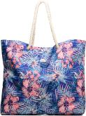 Printed Tropical Tote