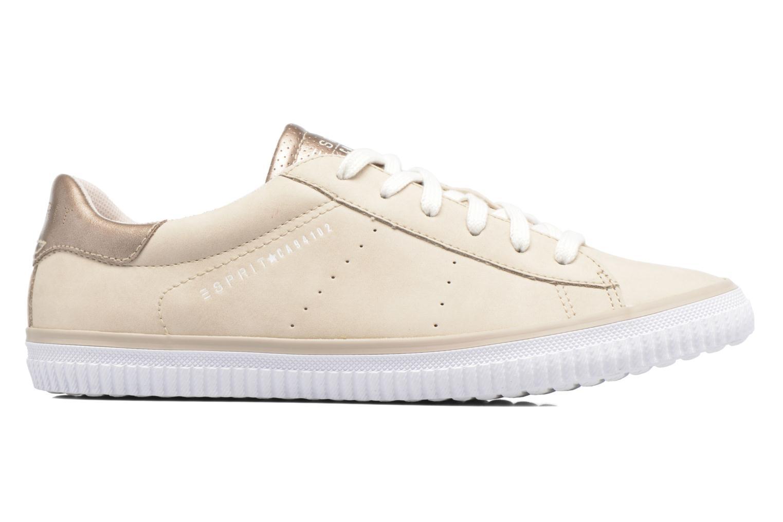 Sneaker Esprit Riata Lace Up beige ansicht von hinten