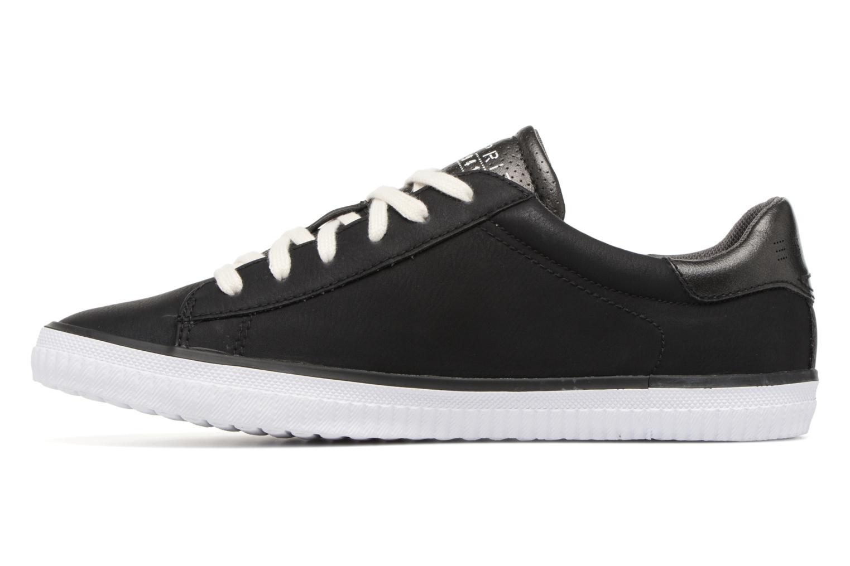 Sneaker Esprit Riata Lace Up schwarz ansicht von vorne
