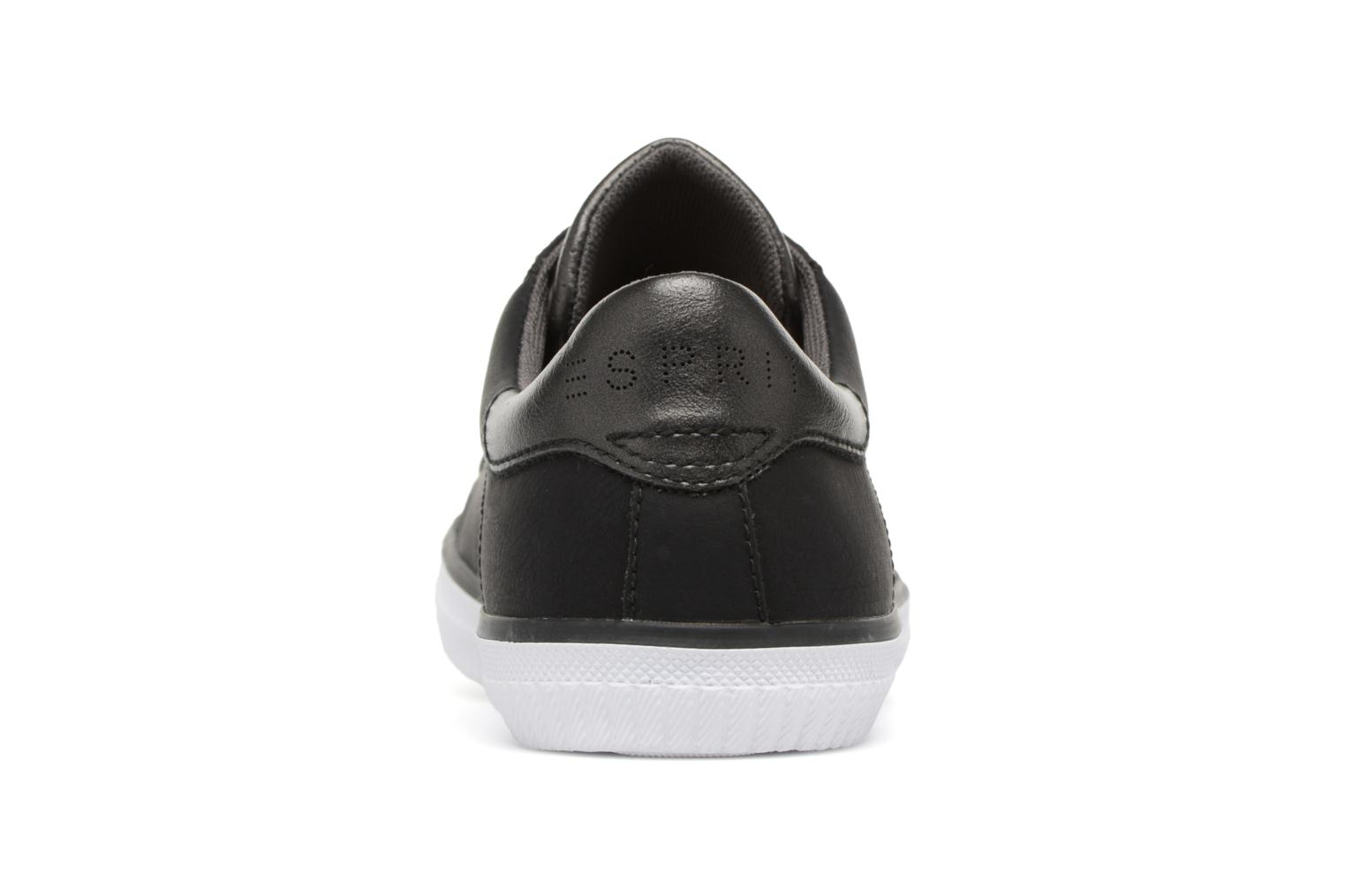 Trainers Esprit Riata Lace Up Black view from the right