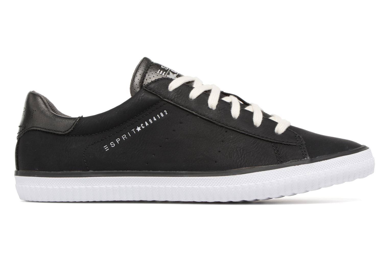 Sneaker Esprit Riata Lace Up schwarz ansicht von hinten