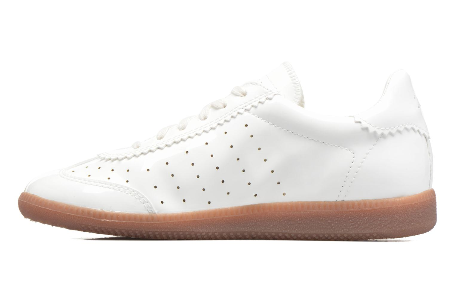 Baskets Esprit Trainee Lace Up Blanc vue face
