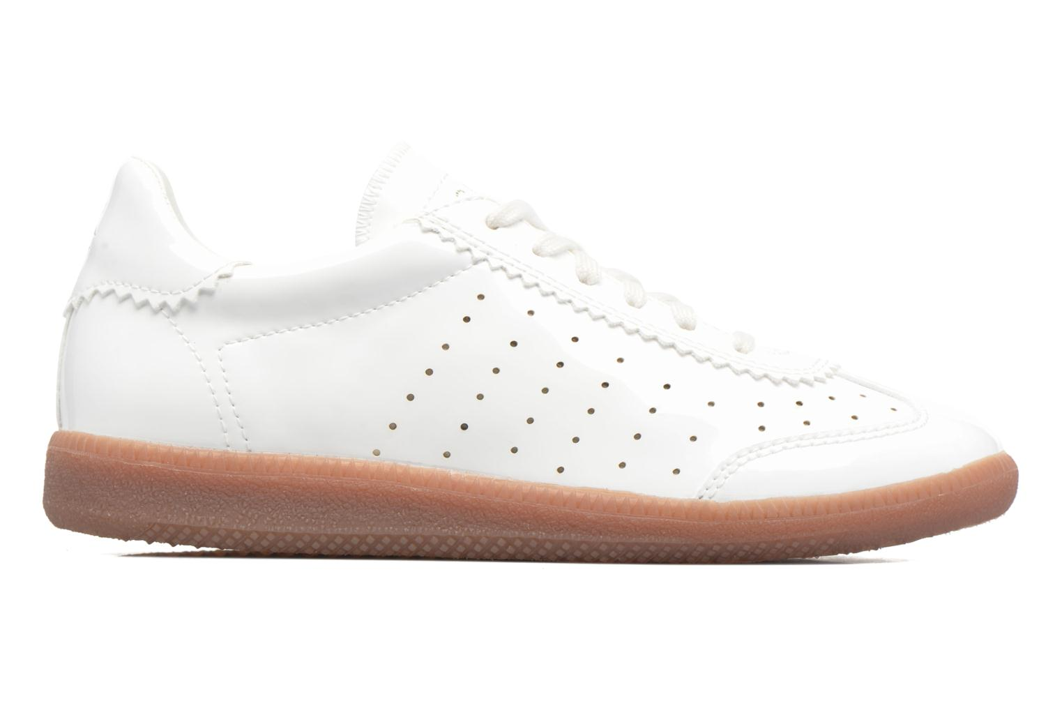 Sneakers Esprit Trainee Lace Up Hvid se bagfra
