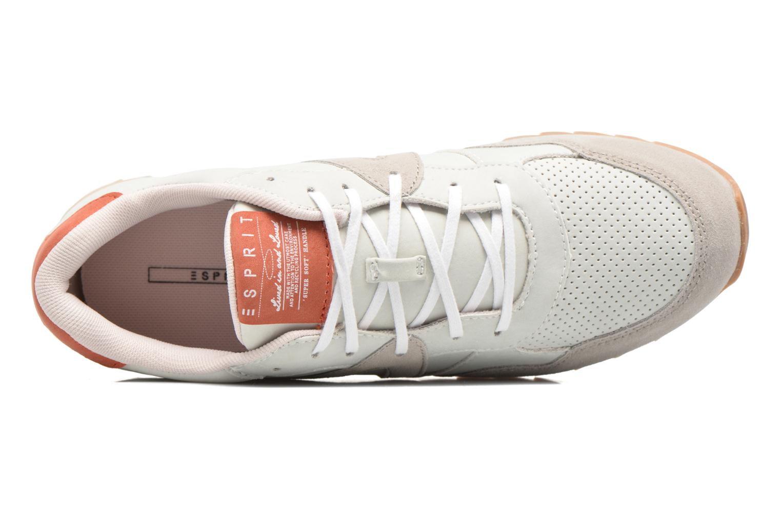 Trainers Esprit Astro Lace Up Grey view from the left