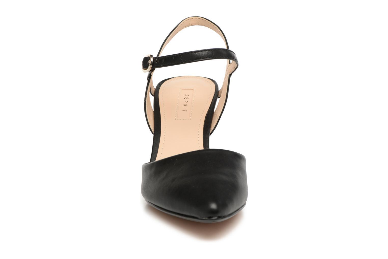 Pumps Esprit Pyra Sandal schwarz schuhe getragen