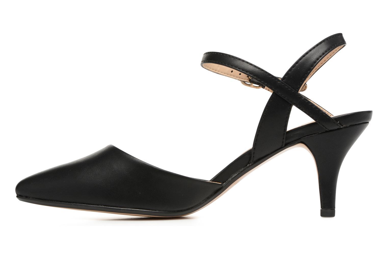 High heels Esprit Pyra Sandal Black front view