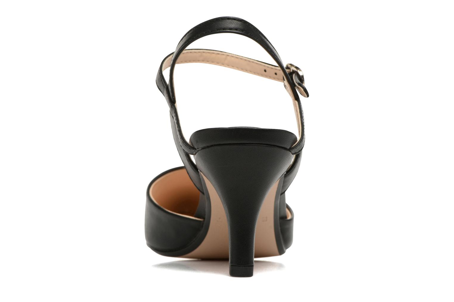 High heels Esprit Pyra Sandal Black view from the right
