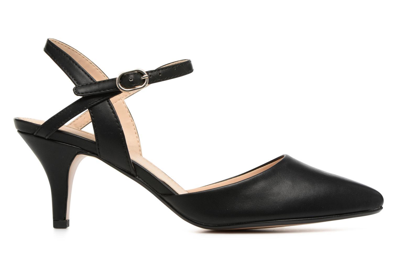 High heels Esprit Pyra Sandal Black back view
