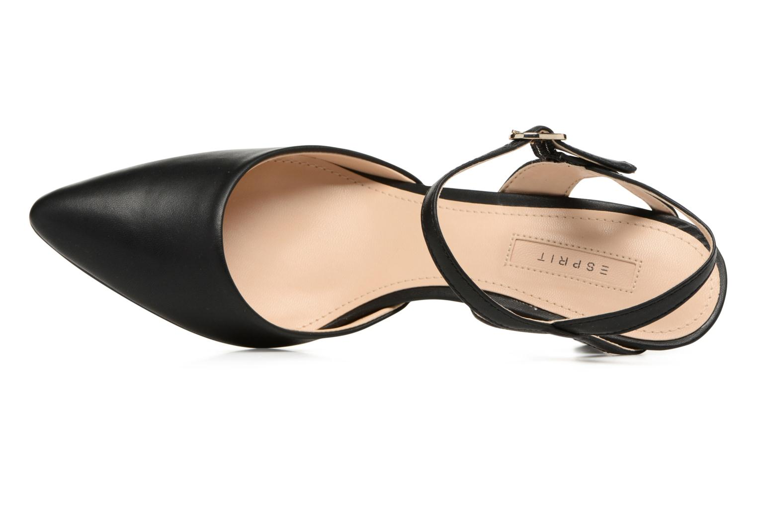 High heels Esprit Pyra Sandal Black view from the left
