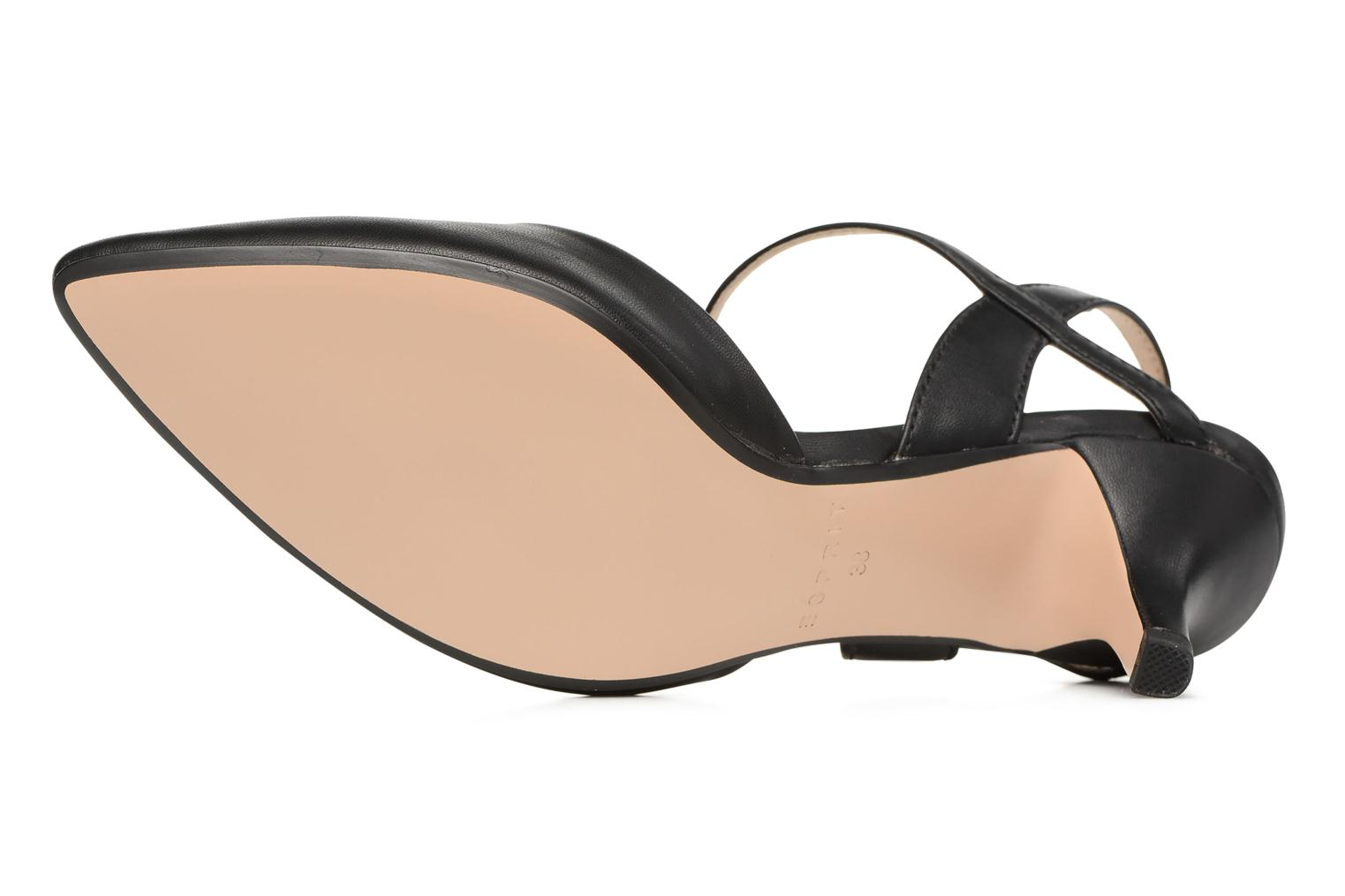 High heels Esprit Pyra Sandal Black view from above