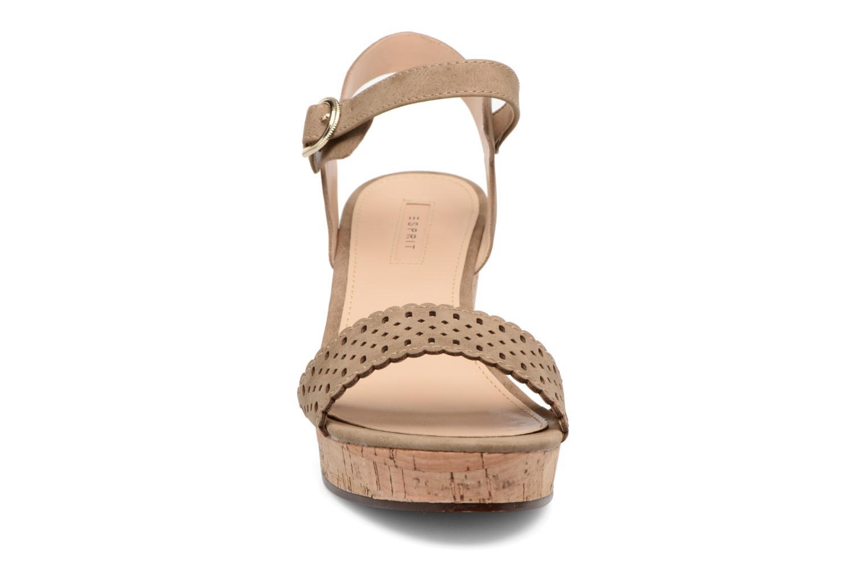 Sandales et nu-pieds Esprit Gessie Sandal Marron vue portées chaussures