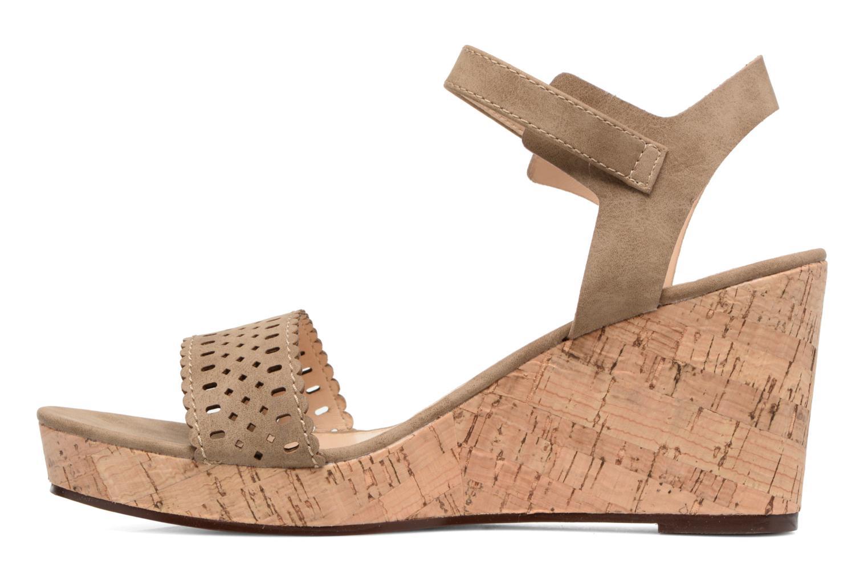 Sandales et nu-pieds Esprit Gessie Sandal Marron vue face