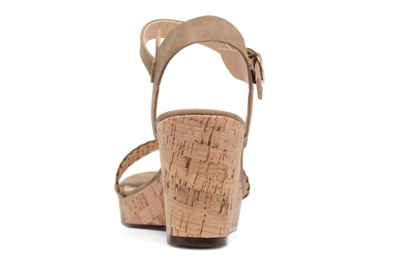 Sandales et nu-pieds Esprit Gessie Sandal Marron vue droite