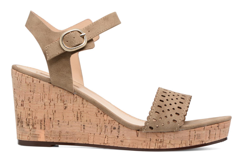 Sandales et nu-pieds Esprit Gessie Sandal Marron vue derrière