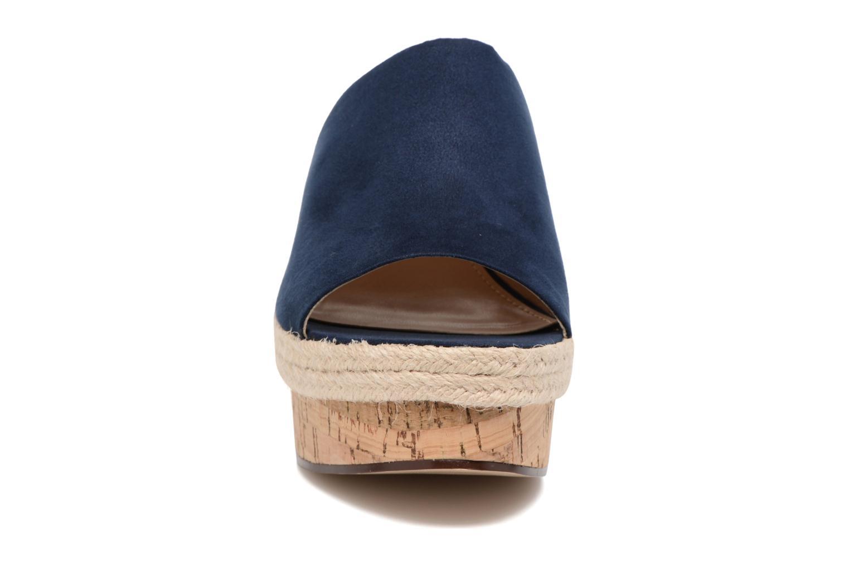 Clogs & Pantoletten Esprit Fary mule blau schuhe getragen
