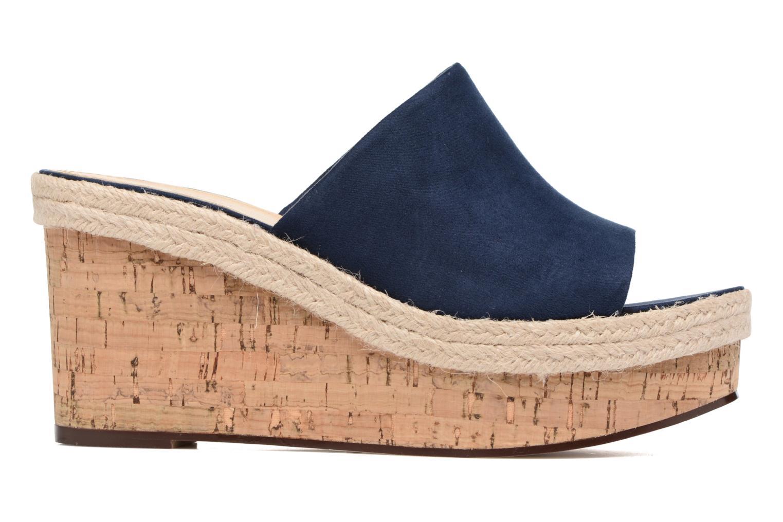 Clogs & Pantoletten Esprit Fary mule blau ansicht von hinten